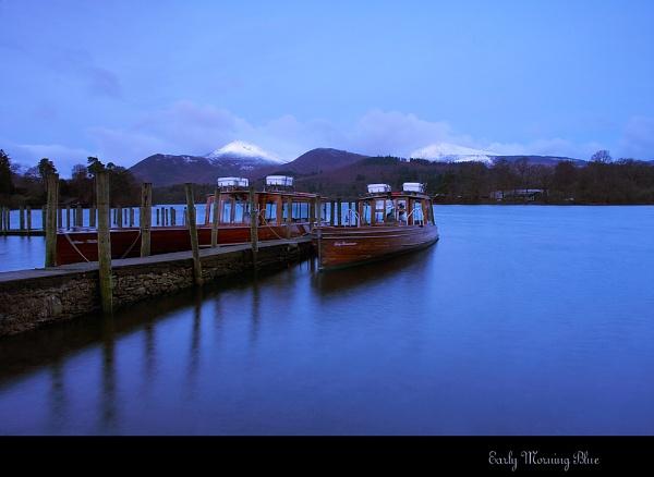 Early Morning Blue by cdm36