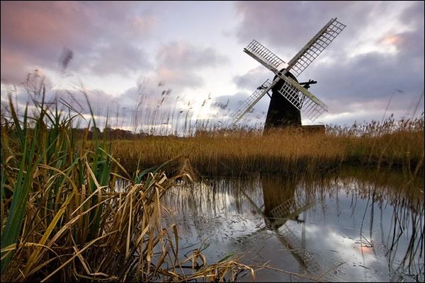 Herringfleet Mill by brm