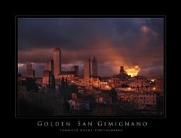 Golden San Gimignano