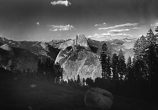 Half Dome, Yosemite by matt5791