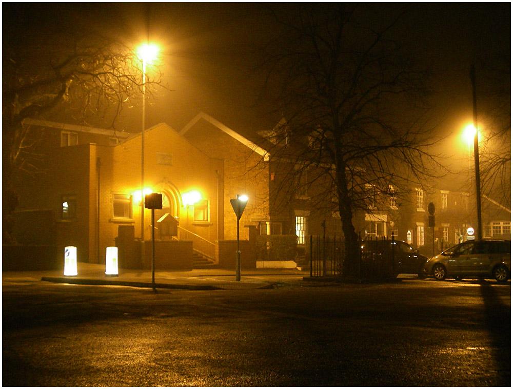Sandbach at Night