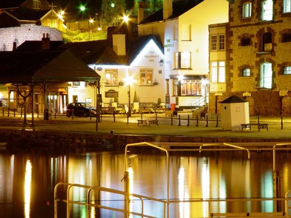 Exeter Quay at Night by sebroadbent