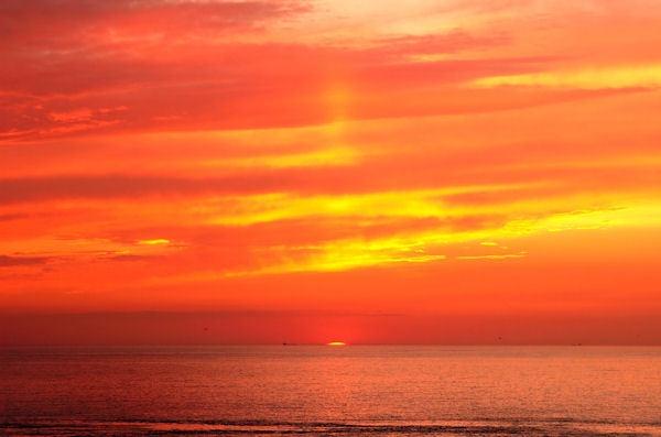 Sunset by sebroadbent