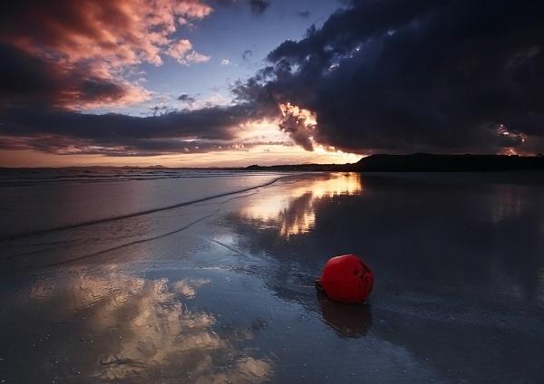 Buoy on Blackrock Beach by DouglasLatham
