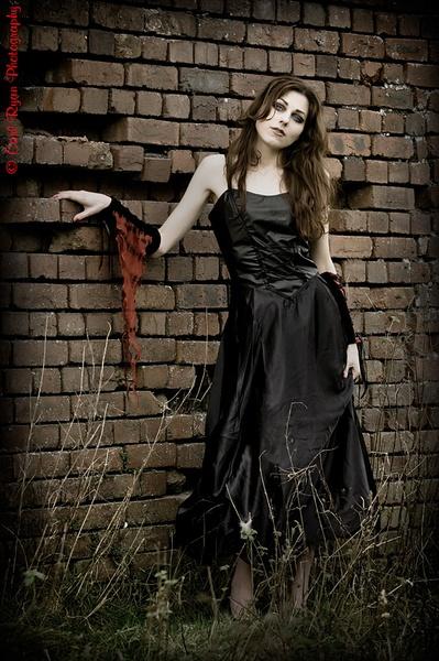 Girl in a Brickyard by redmist