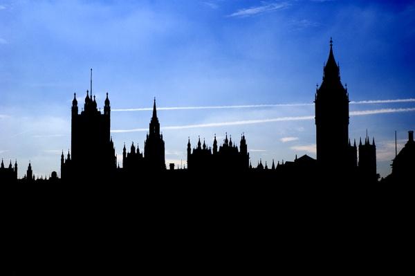 London Skyline by wheeldon