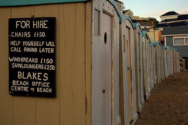 Ventnor Beach Huts by DaveBlunt