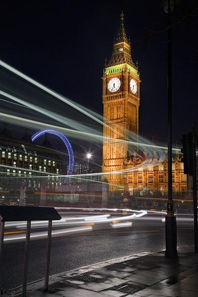 Big Ben Traffic by MarcPK
