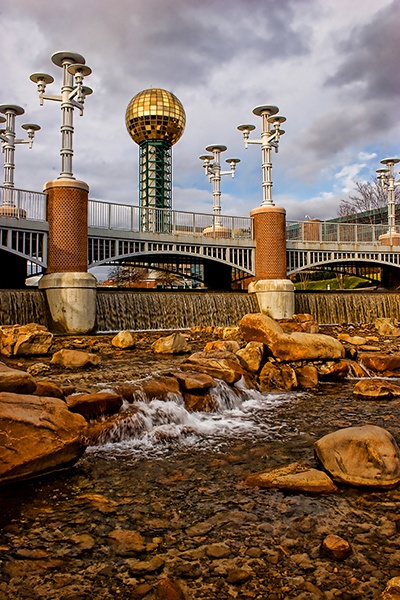 Sunsphere at the Worlds Fair Park by shutterbugcrazy