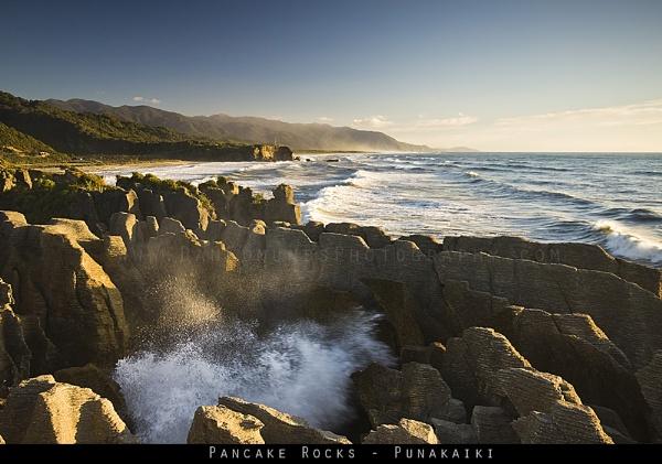 The Pancake Rocks by Guernseydan