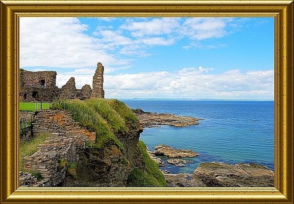 More casle ruins near Edinburgh by icemanonline