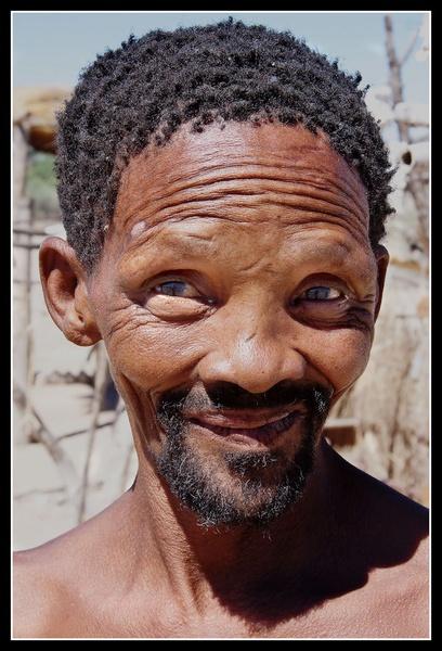 Kalahari Bushman by challicew