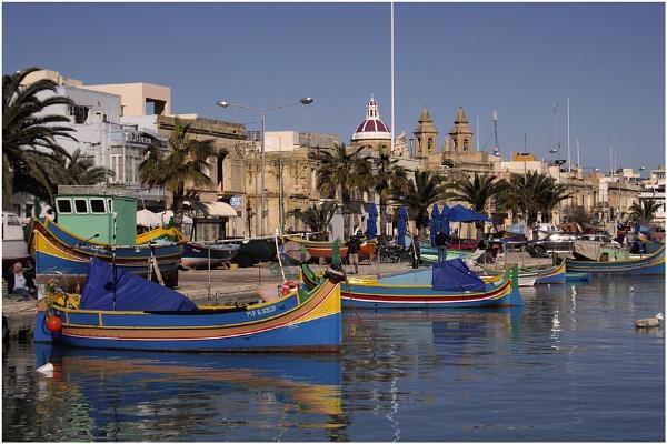 Marsaxlokk, Malta by malleader