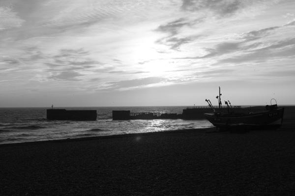 Hastings Beach by benmini