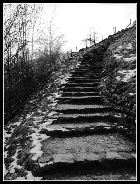 hillside steps by texon88
