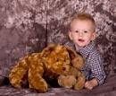 Grandson with teddy