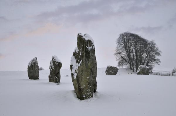 Avebury Winter Morning by rogerbryan