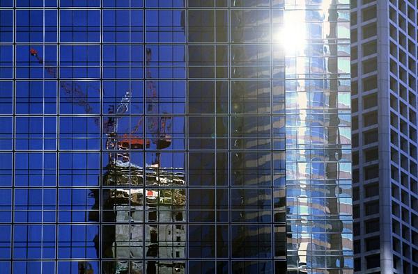 Hong Kong Reflections by stuart davies