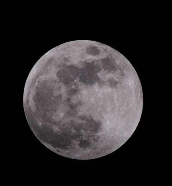 The Moon by sebroadbent