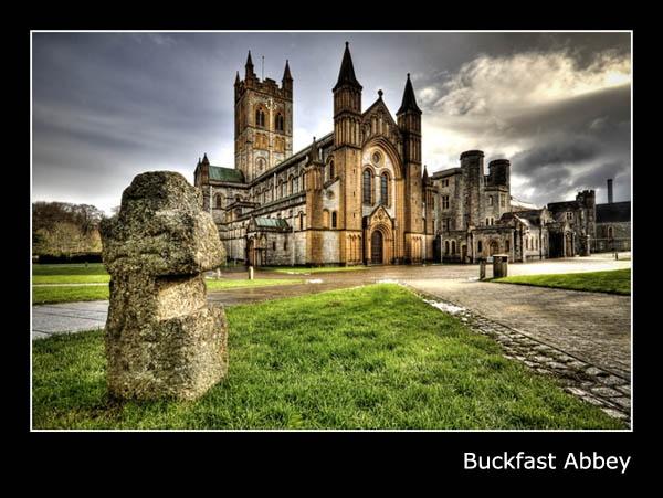 Buckfast Abbey by Menzabac