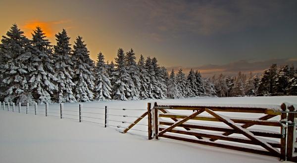 ELGIN - MILLBUIES IN THE SNOW by JASPERIMAGE