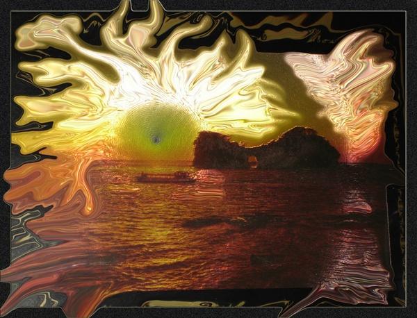 Flaming Sunset... by monashort