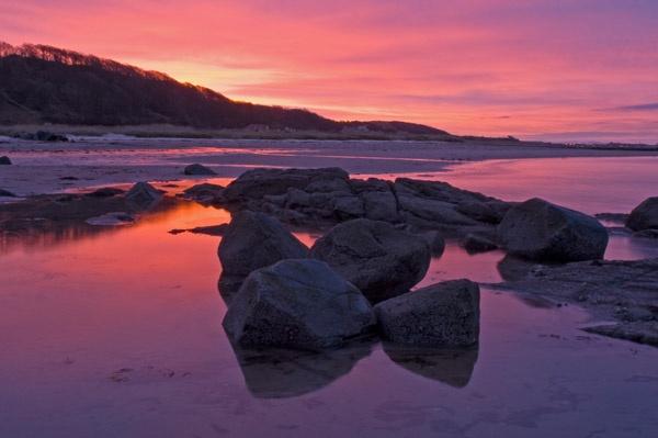 Seamill sunrise by RosePhoto