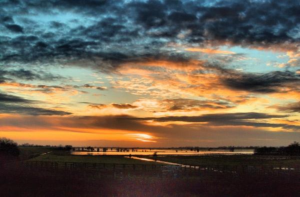 WINTER SUNSET by BillM