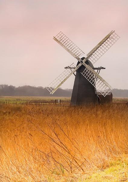 Herringfleet Mill by dave1207