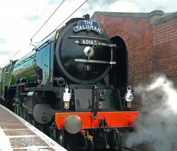 60163 steam train by KevinWalsham