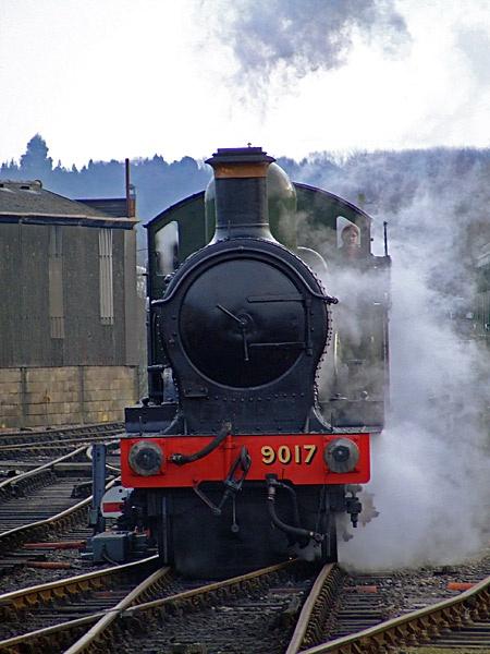 GWR Earl/Dukedog No.9017 by Georgie