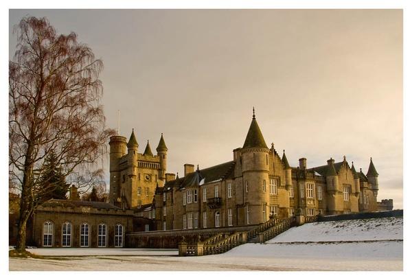 Balmoral Castle by paulmackiemaging