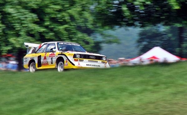 Audi Quattro rally car by barty50