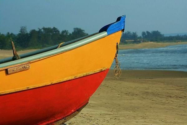 Goan Fishing Boat by jove