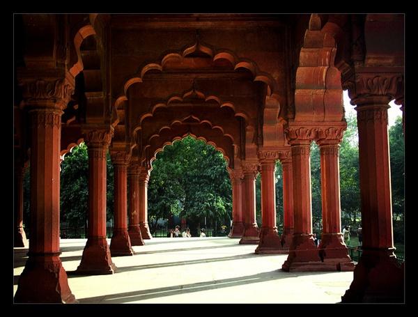 Diwan-e-aam, Red Fort, New Delhi, INDIA by nitinhopeindia