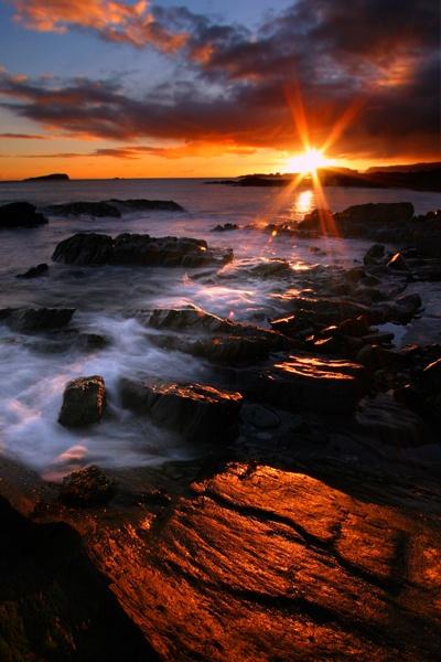 Scottish Coast-Oban by wolfy
