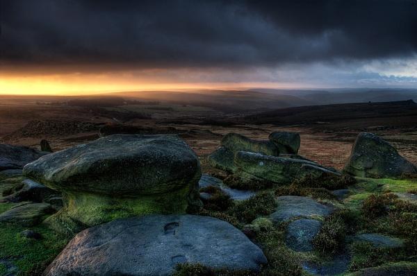Stormy Sunrise by cdm36