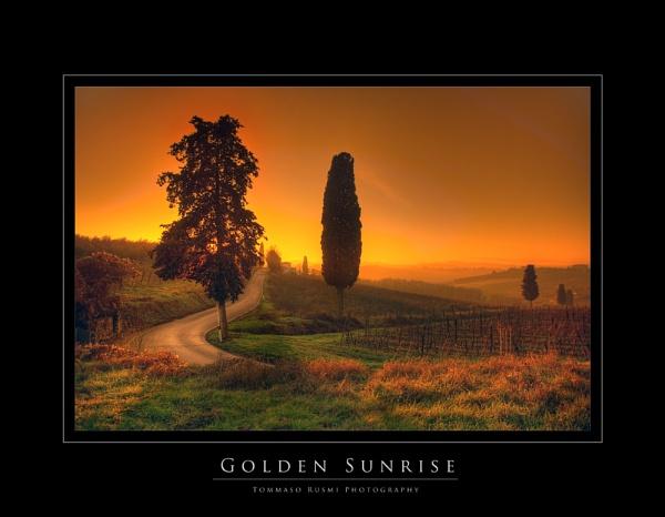 Golden Sunrise by rusmi