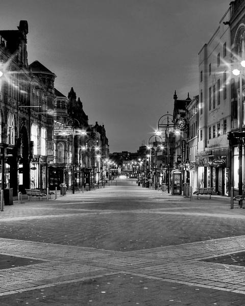 X Marks Briggate, Leeds by Retnyap