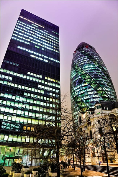The Gherkin by ghibby