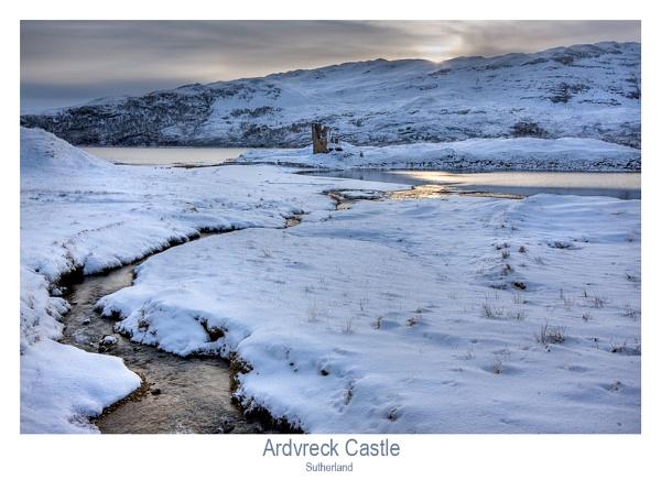 Ardvreck Castle in Winter by Sue_R