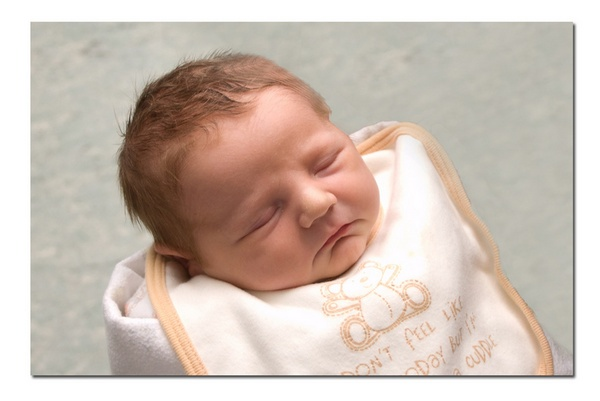 my 1 day old grandson by patman