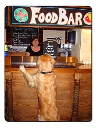 Ordering Her Food