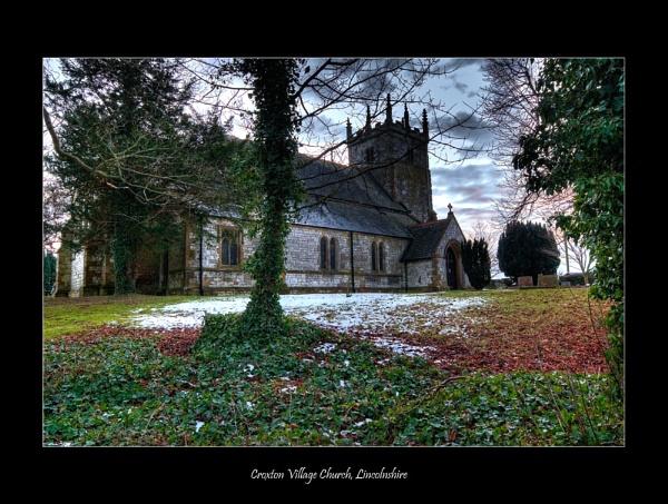 Village Church by Moey