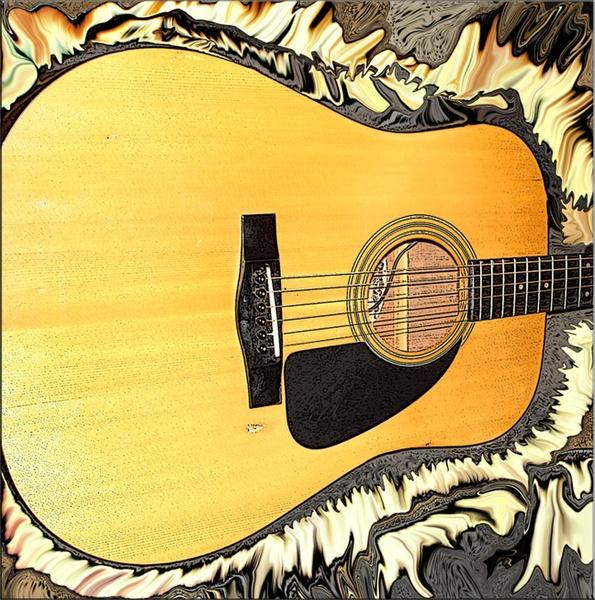 Fender Flat Top by monashort