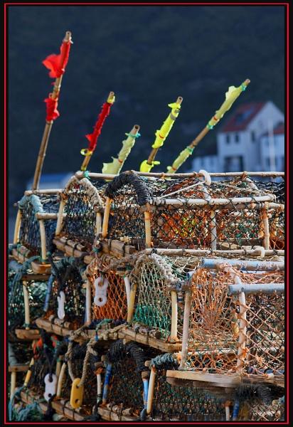 Lobster pots by Nettles