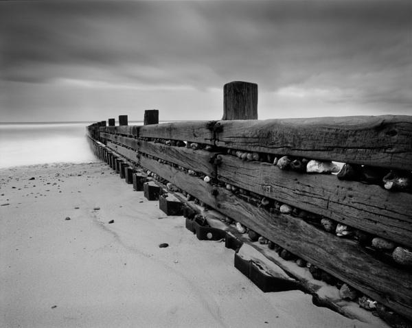 Happisburgh Beach by fennera