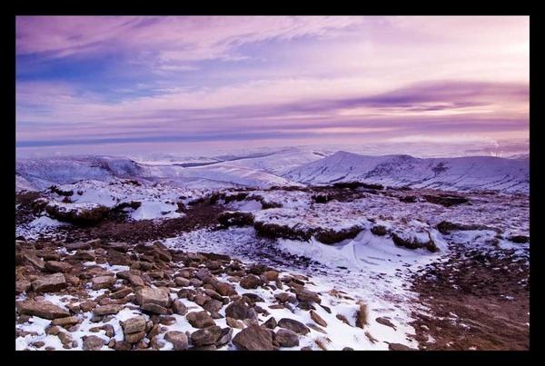 Peak in the Snow by peakphotographer
