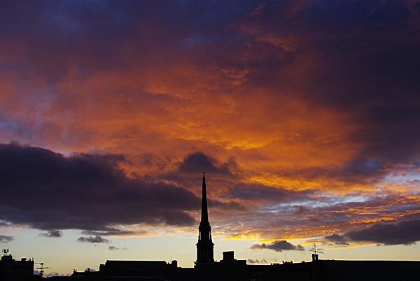 Ayr Sunset Feb09 by DaveH64