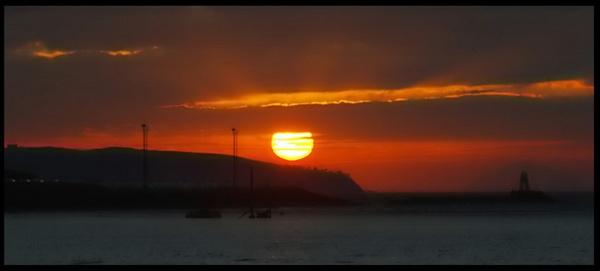 Sunset Wreck by DaveH64
